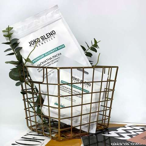 Альгінатна маска заспокійлива з екстрактом зеленого чаю і алое вера Joko Blend 100 г (2)