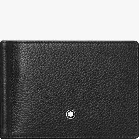 Бумажник 6сс с зажимом для банкнот Meisterstück Soft Grain