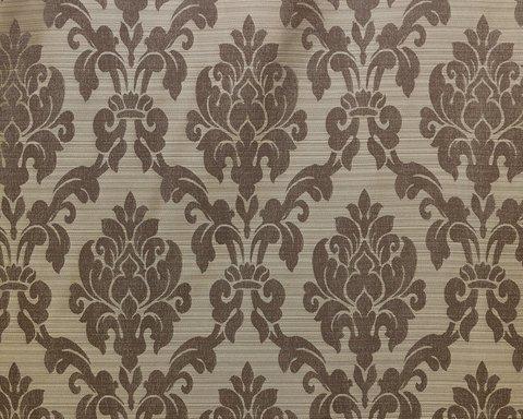 Портьерная ткань жаккард Афродита темно-коричневый