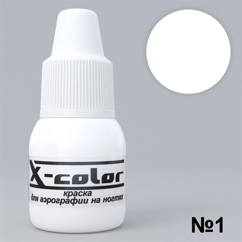 Краска для аэрографии №1 - Белая 6мл