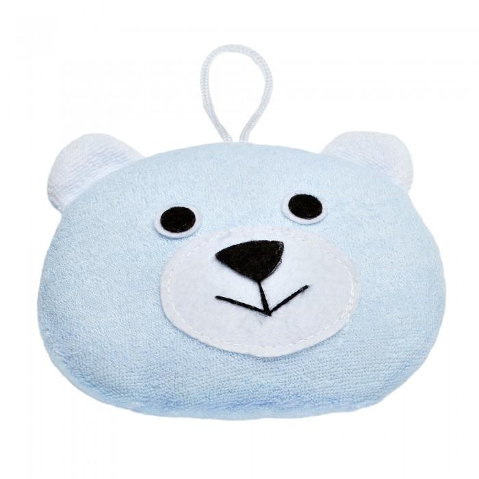 Мочалка ROXY-KIDS Мягкая губка для купания Мишка
