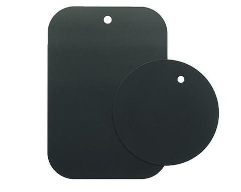 BoraSCO / Набор металлических пластин для магнитного держателя | черный