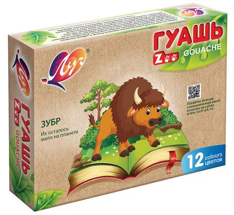 Quaş \  Гуашь Zoo 12 rəng
