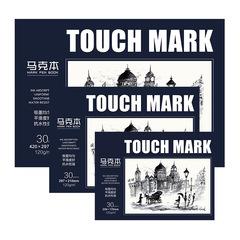 Скетчбук для маркеров Touch Mark, 30 л. (уценка)
