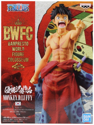 Фигурка One Piece Monkey D. Luffy Special BWFC