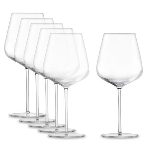 Набор бокалов для красного вина Burgundy 955 мл, 6 шт, Vervino
