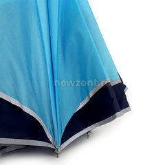 Антизонт голубой с тёмно-синим и светоотраж каймой п/авт (откр)