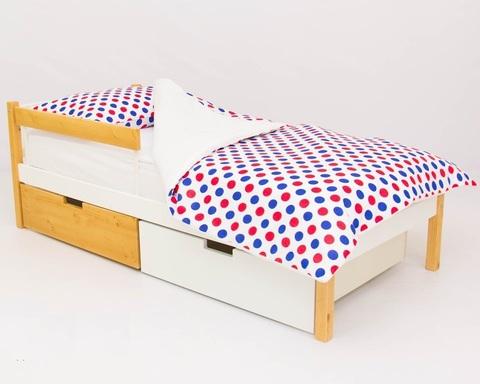 Кровать SKOGEN дерево-белый