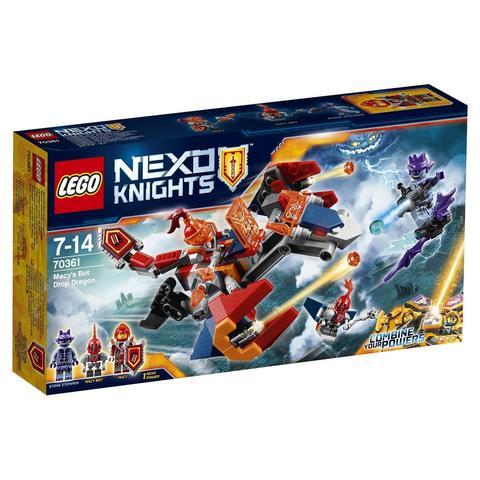 LEGO Nexo Knights: Дракон Мэйси 70361 — Macy's Bot Drop Dragon — Лего Нексо Рыцари