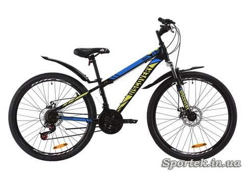 Гірський універсальний велосипед Discovery Trek AM DD з колесами 26
