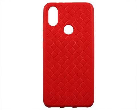 Чехол для Xiaomi Mi6X/Mi A2 серия плетение | красный