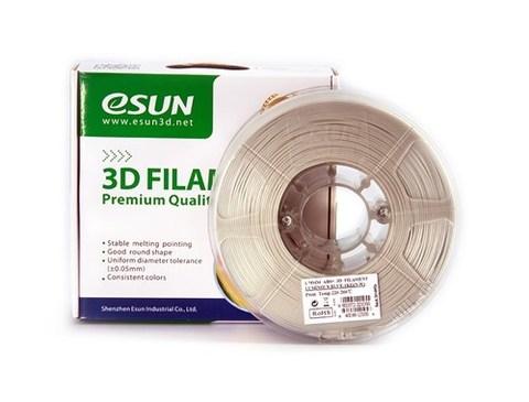 ESUN ABS+ 1.75 мм, 1 кг, светящийся синий
