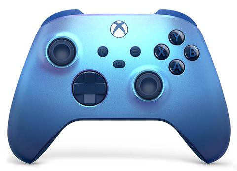 Беспроводной геймпад Aqua Shift Special Edition (Xbox, сияющий синий, QAU-00027)
