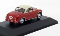 AWZ P70 Coupe dark bordeux-white 1958 IST042 IST Models 1:43
