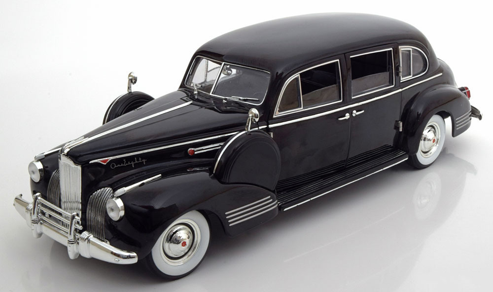 Коллекционная модель Packard Super Eight One-Eighty The Godfather 1941 Black