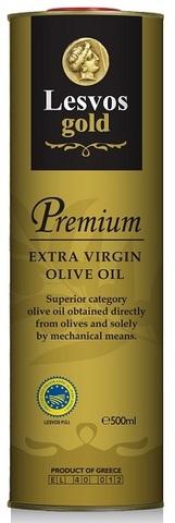 Оливковое масло первого холодного отжима Lesvos gold