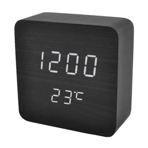 Часы сетевые 872-6 белые, USB