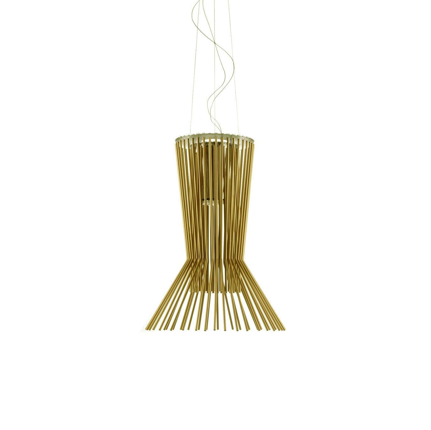 Подвесной светильник копия Allegretto Vivace by Foscarini (золотой)