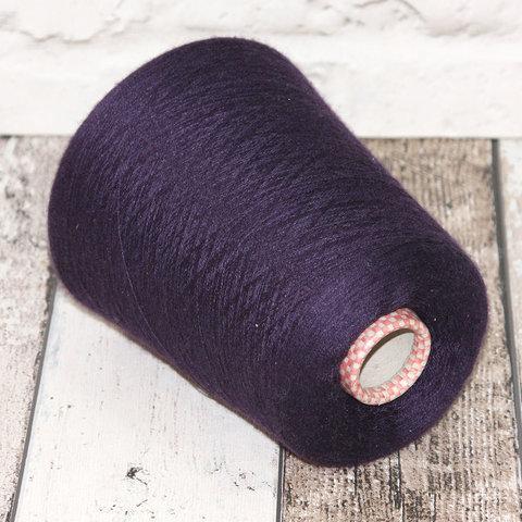 Кашемир с шелком (30%) CARIAGGI JAIPUR 2/56 фиолетовый