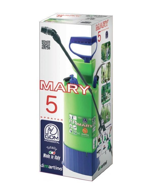 Ручной помповый опрыскиватель MARY 5 литров DiMartino