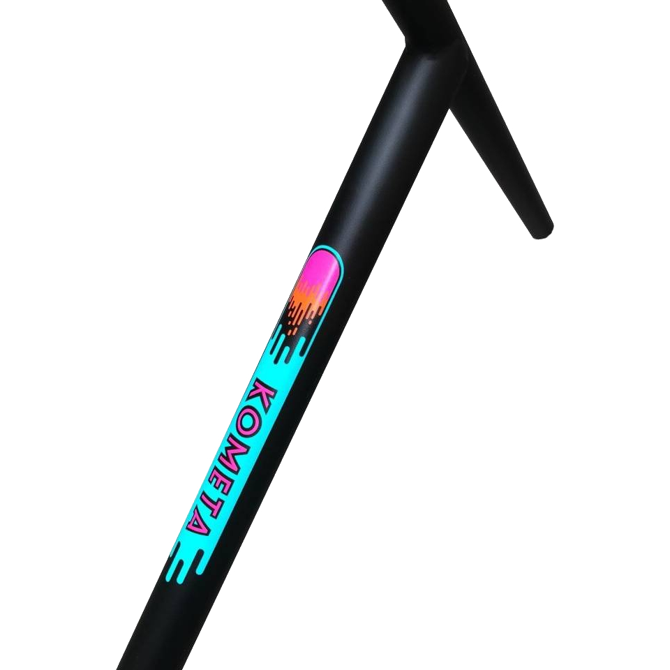 Руль для трюкового самоката КОМЕТА V2 Oversized 34.9 (Supermatte Black)