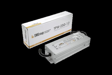 Блок питания IP67 12В для светодиодной ленты 250Вт