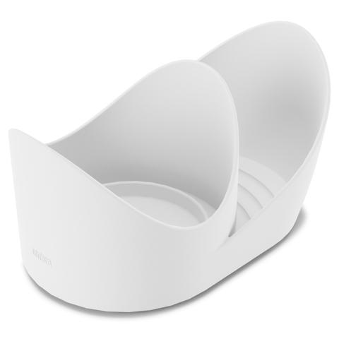 Органайзер с сенсорным диспенсером для мыла Otto Caddy белый-серый