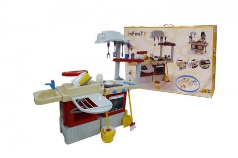 Набор игрушечной кухни Infinity basic №4 (в коробке)