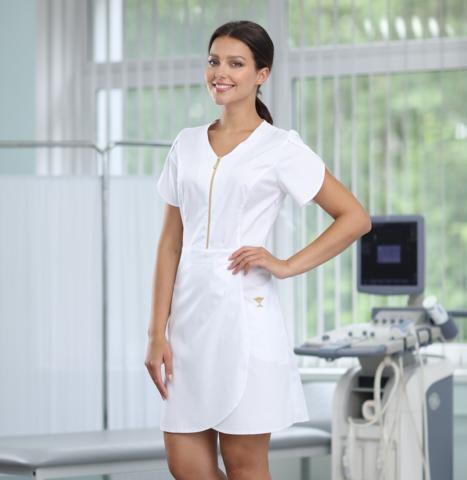 Платье медицинское арт 4301-1