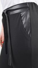 Яна. Офісні брюки великого розміру. Чорний.