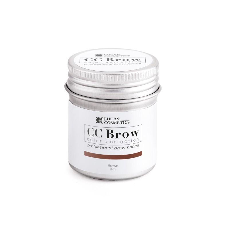 Хна для бровей CC Brow 10гр в баночке Brown коричневый