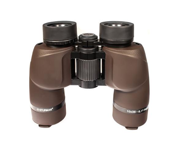Бинокль Sturman 8x36 коричневый - фото 2