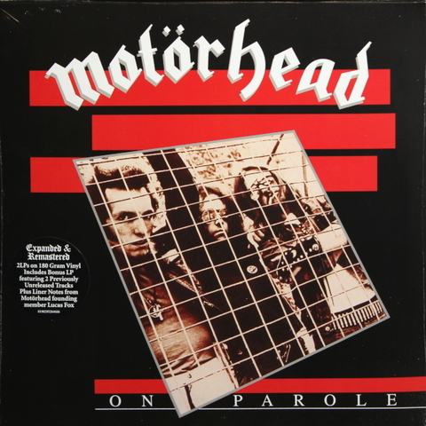 Motorhead / On Parole (Expanded & Remastered)(Limited Edition)(2LP)