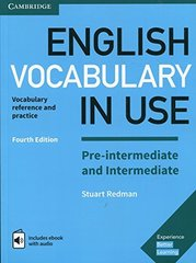English Vocabulary in Use: Pre-intermediate and Intermediate (4th Edition) Book with answers and ...