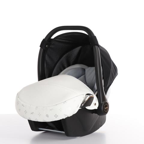 Автокресло TAKO LARET IMPERIAL (Ткань/кожа) белое  ATLI-01