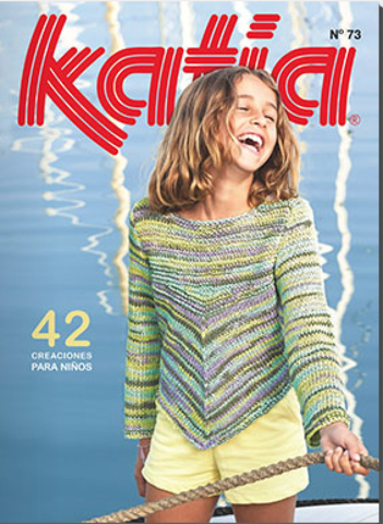 Журнал Kids 73 Katia
