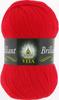 Пряжа Vita Brilliant 5107 (Красный мак)