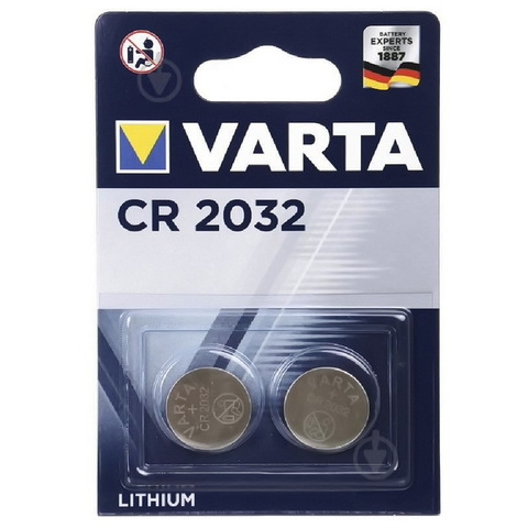Батарейки литиевые Varta CR 2032 (2/20)