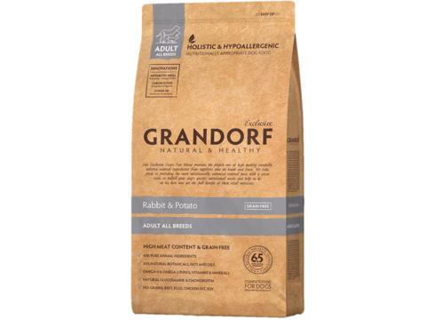 Grandorf Dog All breeds сухой корм для собак всех пород (кролик с картофелем) 3 кг