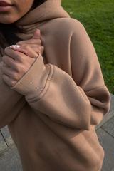 Спортивный костюм женский модный теплый с капюшоном интернет магазин