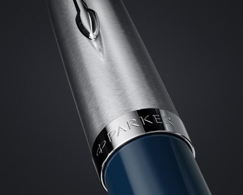 Шариковая ручка Parker 51 CORE MIDNIGHT BLUE CT, цвет чернил черный123