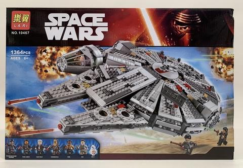 Звездные Войны 10467 Сокол Тысячелетия, 1364 дет. Конструктор