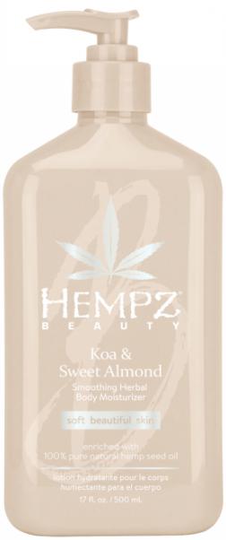 Hempz Koa & Sweet Almond Smoothing Herbal Body Moisturiser молочко для тела 500мл