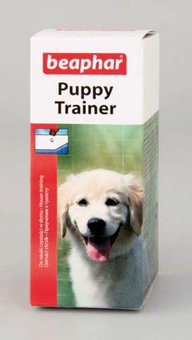 12562 Беафар Puppy Trainer Средство д/приучение щенков к туалету 50мл*3*72