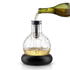 Декантер для вина с охлаждающей подставкой, 0,75 л., фото 1