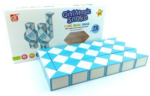 QiYi Twisty 72 Snake - Змійка Рубіка на 72 елемента