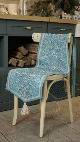 Баскур (покрывало на стулья) 38x160см (200-02)
