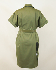 Платье Passion Line 1054 однотон