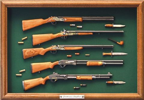 Hunting rifles set