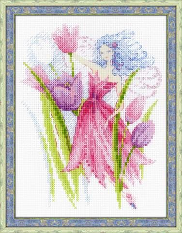 Набор для вышивания крестом «Фея весеннего ветерка» (1562)